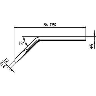 Ersa 052JD Soldering tip Chisel-shaped, angled, ERSADUR Tip size 3.1 mm Content 1 pc(s)