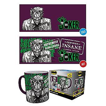 DC Comics The Joker Heat Changing Mug