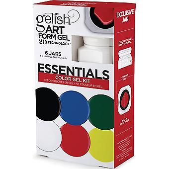 Gelish Nail Art Form 2019 Gel Kit - Essenziali (6 X 5g)