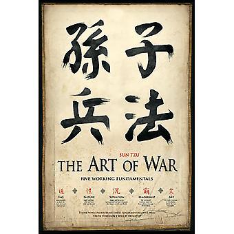 Poster - Studio B - The Art of War 36x24