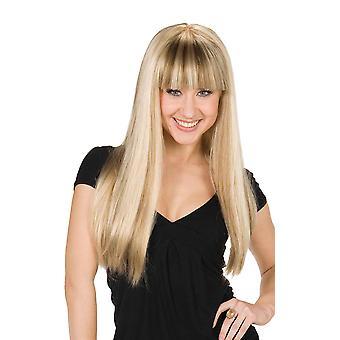 Hanna Hannah Montana peruca loira Mandy peruca Anna e Elsa