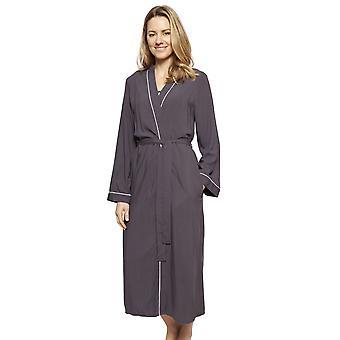 Cyberjammies 1333 Femmes-apos;s Nora Rose Nancy Grey Modal Long Robe