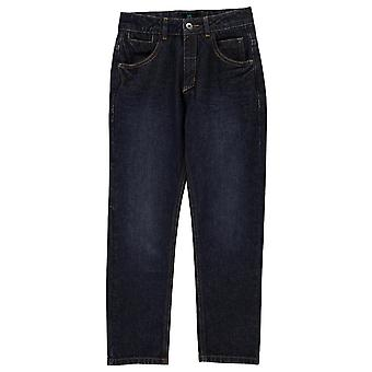 Firetrap Kids Seven Pocket Jeans Juniors Trousers Bottoms Pants