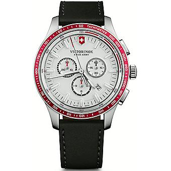 Victorinox alliance Quartz Analog Man Watch with Cowhide Bracelet V241819