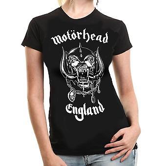 Rock off - motorhead england - womens t-shirt