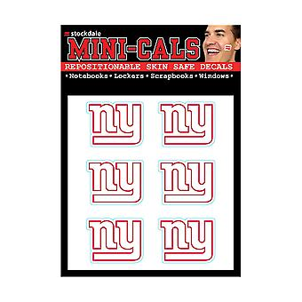Wincraft 6 Ers Face Sticker 3cm - NFL New York Giants