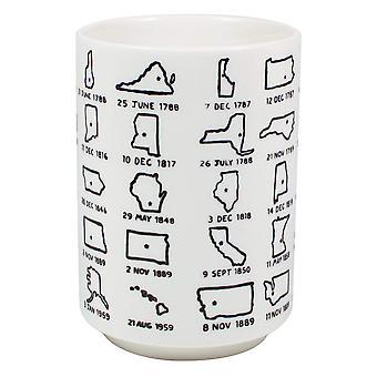 Mug-upg-det ' s svært at få et håndtag på United States10oz New 5383
