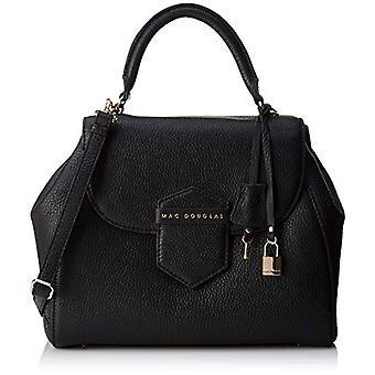 Mac DouglasBRASILIA ROMY-zwarte vrouw handvat tas (Noir VG01)) 13x28x32 cm (b x H x L)