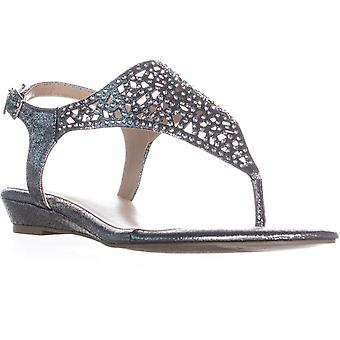 Thalia Sodi Womens Ilyssa Fabric Open Toe Casual Slingback Sandals