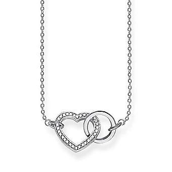 Thomas Sabo Silber Damen Halskette 925 KE1644-051-14-L50v