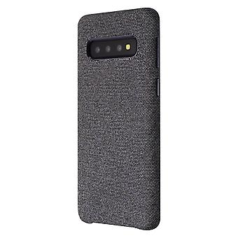 Verizon Fabric Case för Samsung Galaxy S10-svart