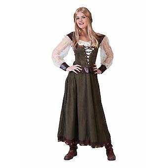 Mittelalter Marktfrau Damenkostüm Lady Karneval Fasching Mottoparty Kostüm Damen