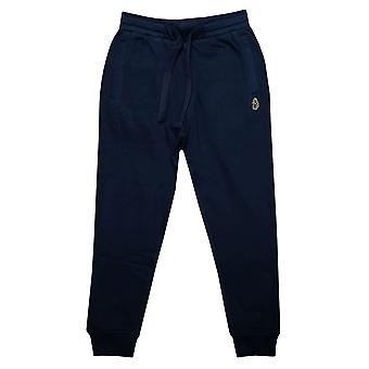 Infant Boys Luke 1977 Hills Angel Jog Pants In Navy- Ribbed Cuffs And Waist-