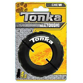 "Tonka Seismic Tread Tire Chew Toy - 3.5"""
