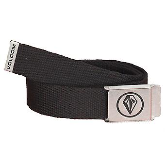 Volcom Web Belt With Bottle Opener ~ Volcom Web black