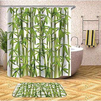 Fresh Bamboo Shower Curtain