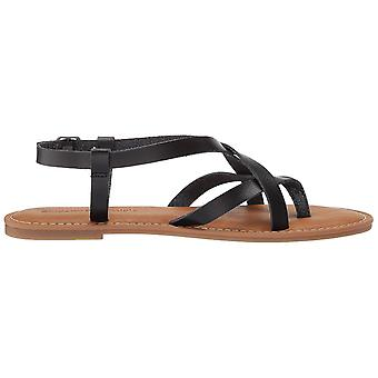 Amazon Essentials femei ' s casual Strappy Sandal, negru, 10 B SUA