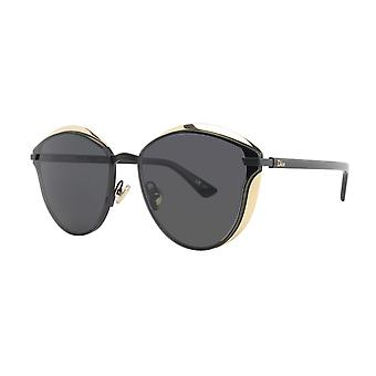 Dior Murmure P8A/Y1 Black-Gold/Grey Sunglasses