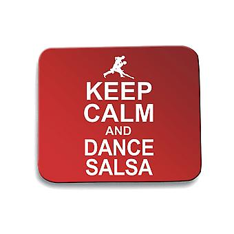 Red pad mouse pad gen0258 keep calm and dance sauce