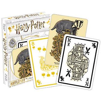 Harry Potter Poufsouffle 52 cartes à jouer (+ Jokers)