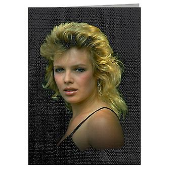 TV Times Kim Wilde 1983 Greeting Card