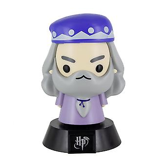 Harry Potter Mini Lamp Icon Light Dumbledore black/grey/purple, printed, made of plastic, in gift wrapping.