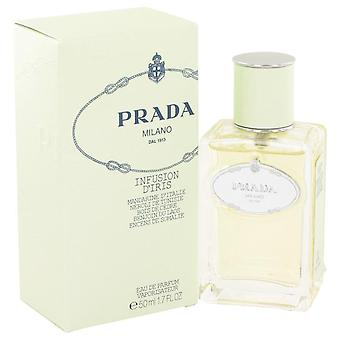 Prada infuze d&iris eau de parfum spray by prada 455382 50 ml