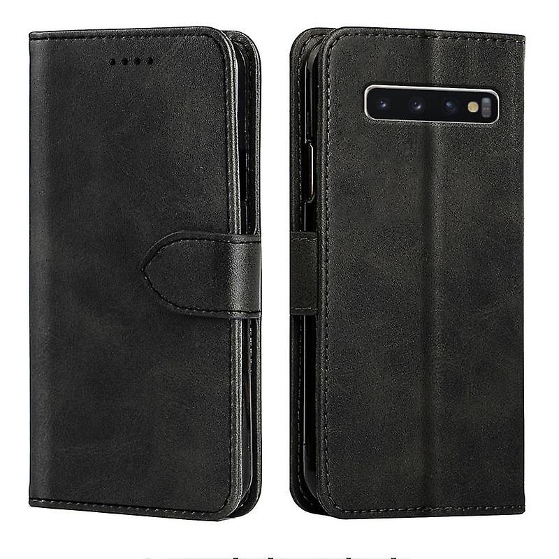 CaseGate phone case case cover for Samsung Galaxy S10 case cover - lock, stand function and card compartment