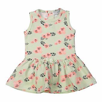 Dirkje κορίτσια φόρεμα μένταμες με λουλούδια