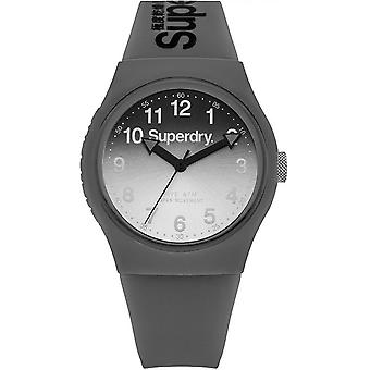-Superdry Urban Laser SYG198EE watch gray D mixed e grad