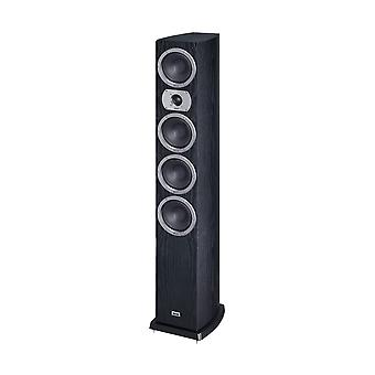 Heco Victa Prime 602, 3 way bass reflex, 280 Watts max., black 1 piece B-stock