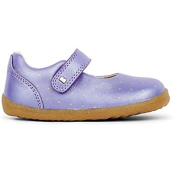Bobux Step Up Girls Delight Shoes Grape Comet