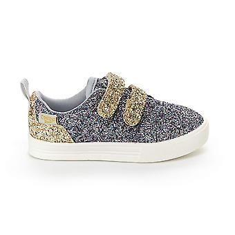 OshKosh B'Gosh Kids Lyric Girl's Glittery Casual Slip-on Sneaker