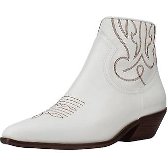 Alpe Booties 4585 05 Couleur blanche