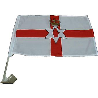 Union Jack usa bandeira do carro Irlanda do Norte
