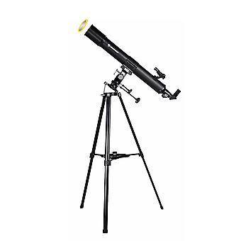 BRESSER Taurus 90/900 NG - Telescopio Lente con adattatore fotocamera per smartphone