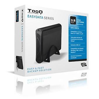 """Ekstern boks TooQ TQE-3526B HD 3,5"""" SATA III USB 3.0 sort"""