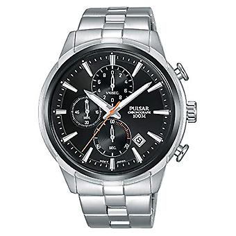 Pulsar men's chronograph Quartz Watch with stainless steel band PM3117X1