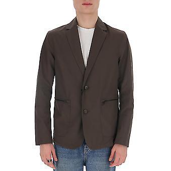 Z Zegna Vu025zz022n08 Hombres's Blazer de Poliéster Gris