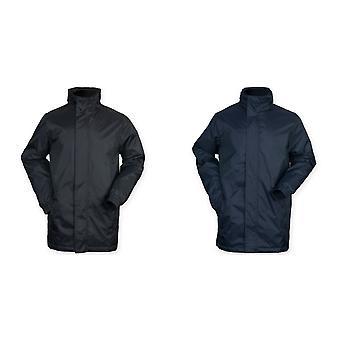 Finden & Hales Mens onafwendbaarheid Hooded Full Zip sport jas