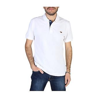 Napapijri - Tøj - Polo - TALY3_NP0A4EGD0021 - Mænd - Hvid - S