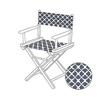 Gardenista® Arabesque Grey Design korvaaminen johtajien puheen johtaja Canvas Cover