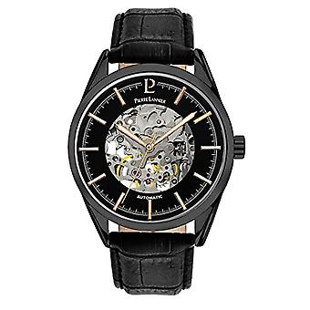 Pierre Lannier Analog automatic men's watch with leather 310C433