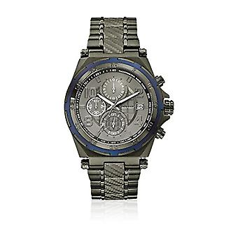 Guess W0243G3-mens wristwatch, grey stainless steel strap