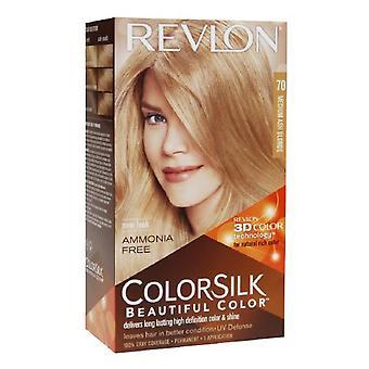 Revlon colorsilk красивые цвета, среднего золы блондинка 70, 1 шт