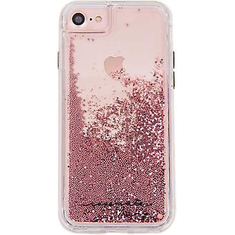 Case-Mate Waterfall Case for iPhone 8/7/6s/6 - Rose Gold/Clear