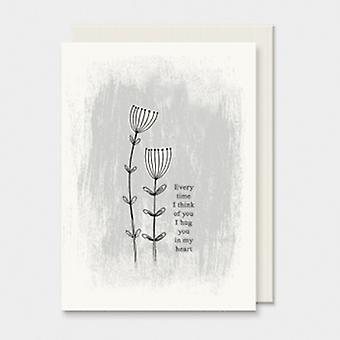 East of India I Hug You In My Heart Card | Gifts From Handpicked