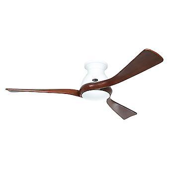 Ventilateur de plafond DC Eco Regento Blanc / Noyer