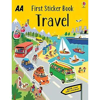 First Sticker Book Travel - 9780749581534 Book