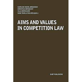 Aims and Values in Competition Law by Caroline Heide-Jorgensen - 9788